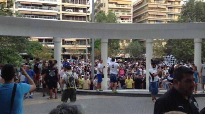 Χαμός στο ξενοδοχείο του ΠΑΟΚ λίγο πριν τη σέντρα στην Τούμπα
