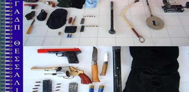 Ολόκληρο οπλοστάσιο διατηρούσε 62χρονος στους Χαλκιάδες