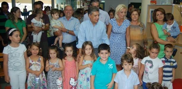 Παρούσα η ηγεσία της αυτοδιοίκησης στην έναρξη της χρονιάς στους παιδικούς σταθμούς