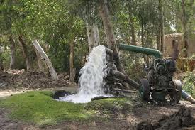 Σύνδεση γεωτρήσεων με τη δεξαμενή νερού