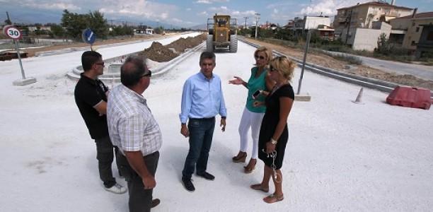 Κ. ΑΓΟΡΑΣΤΟΣ : «Εργο μεγάλης σημασίας για την πόλη της Λάρισας»