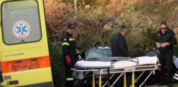 Νεκρός Τρικαλινός οδηγός που έπεσε σε χαράδρα