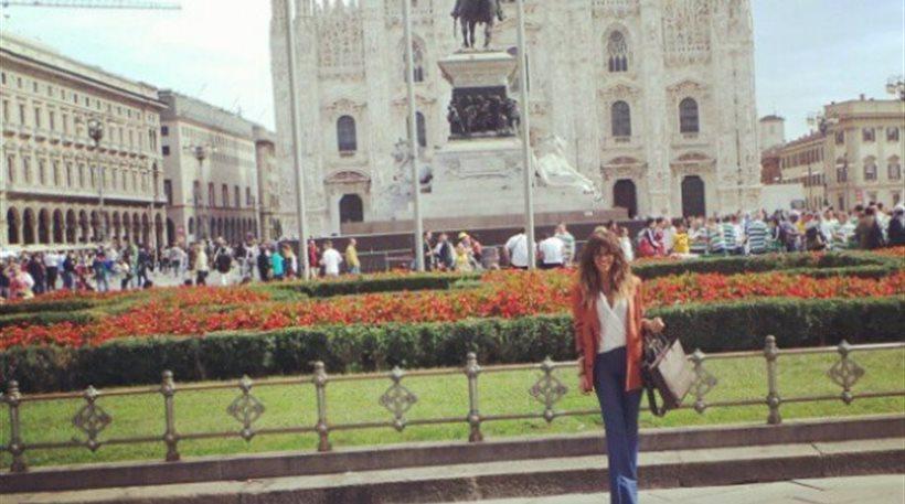 Ελένη Φουρέιρα: Στέλνει… χαμόγελα από το Μιλάνο