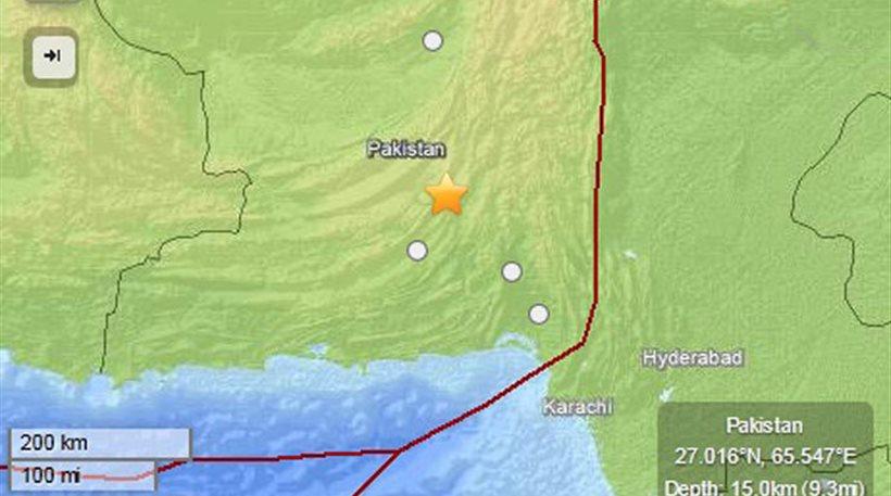 Ξεπέρασαν τους 40 οι νεκροί από τον σεισμό - «τέρας» στο Πακιστάν