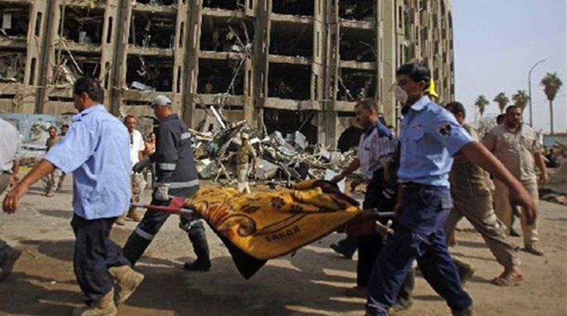 Ιράκ: Αλλεπάλληλες βομβιστικές επιθέσεις με 32 νεκρούς
