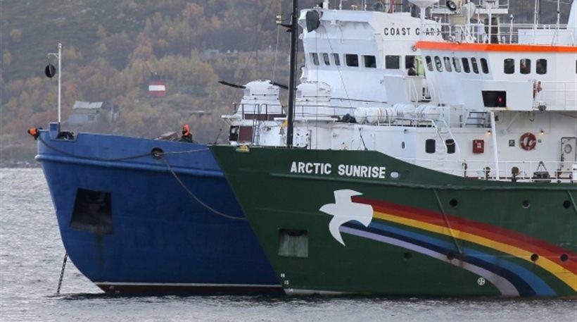Ρωσία: Προφυλακίστηκαν 26 ξένοι και 4 ρώσοι ακτιβιστές της Greenpeace
