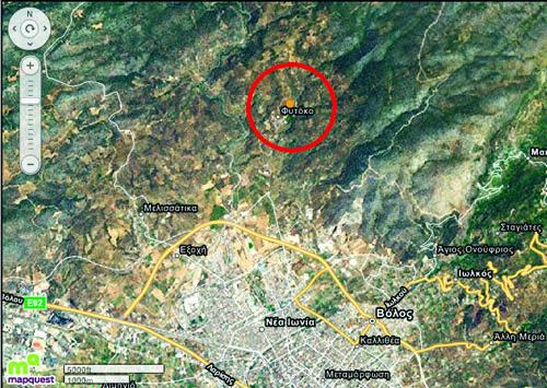 Σεισμός   3,1  Ρίχτερ  στο Βόλο