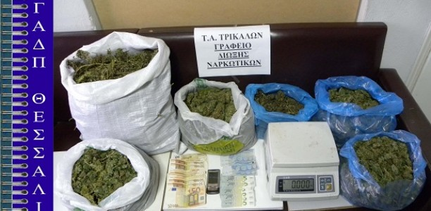 Συνελήφθη 56χρονος Τρικαλινός για κατοχή και διακίνηση ναρκωτικών