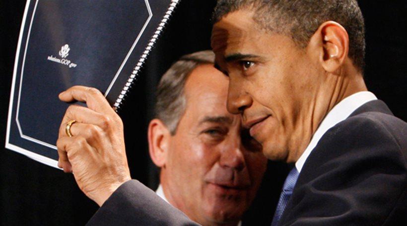 Κρυφτούλι Ομπάμα - Μπένερ για το «λουκέτο»