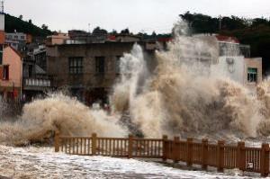 Κίνα: ο τυφώνας Φίτοου σκότωσε τέσσερις, εκτόπισε εκατοντάδες χιλιάδες