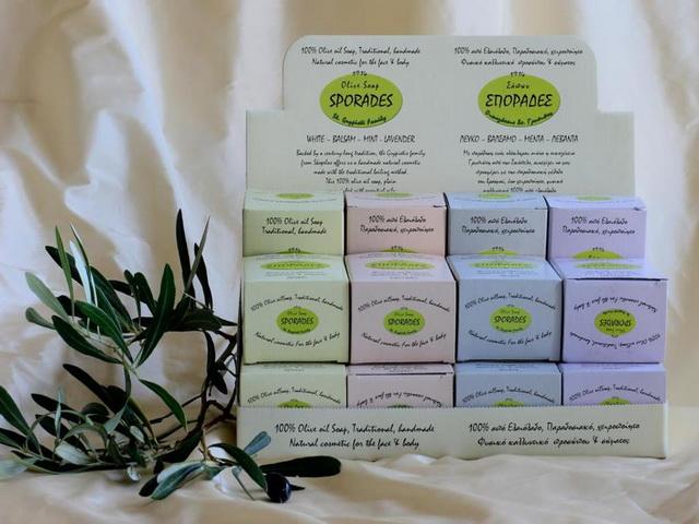 Παραδοσιακό σαπούνι στις Σποράδες