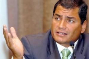 Απειλεί με παραίτηση ο πρόεδρος του Ισημερινού
