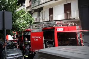 Φωτιά σε διαμέρισμα - Κινδύνεψε ηλικιωμένος