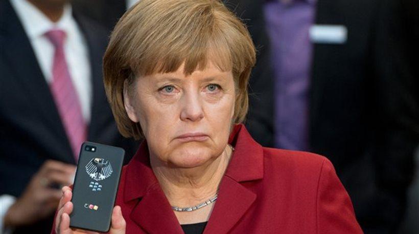 Η παρακολούθηση του κινητού της Μέρκελ γινόταν από την αμερικανική πρεσβεία στο Βερολίνο