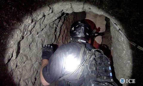 Πάνω από 8 τόνους ναρκωτικών έκρυβε τούνελ στα σύνορα ΗΠΑ- Μεξικού