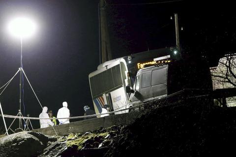 Αλλοδαπός σκότωσε γυναίκα και δύο άντρες σε λεωφορείο