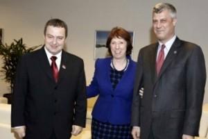 Συνάντηση Ντάσιτς - Θάτσι στις Βρυξέλλες