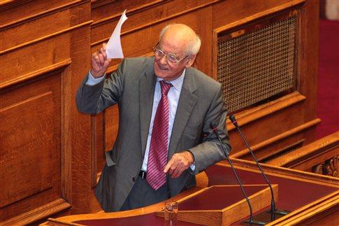 Απ.Κακλαμάνης: Η ψήφος μας στην κυβέρνηση δεν είναι λευκή επιταγή