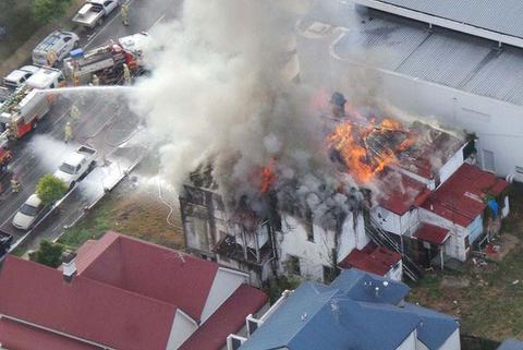 Καταστράφηκε το ιστορικό Belvedere στο Μπρίσμπαν