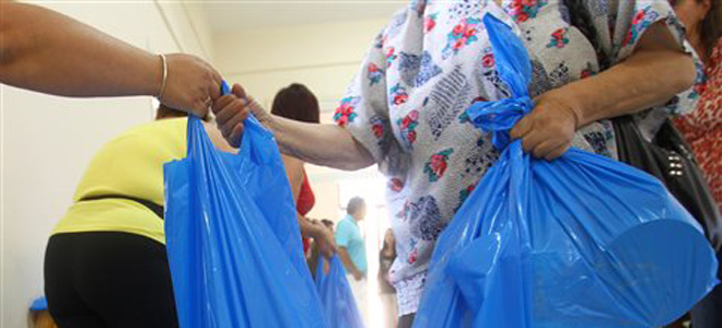 Δωρεάν διανομή τροφίμων στα Τρίκαλα
