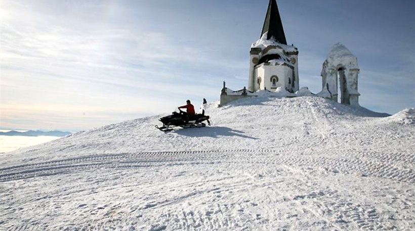 Θεσσαλονίκη: Τα πρώτα χιόνια έκαναν την εμφάνιση τους στο Καϊμακτσαλάν