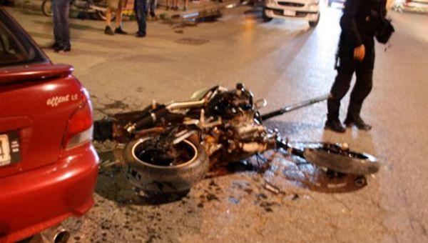 Λάρισα:Τραυματισμός σε τροχαίο στην οδό Καρδίτσης
