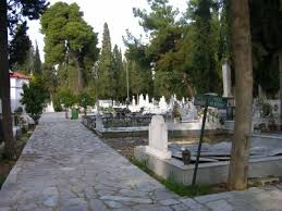 Οι εργασίες στο  Κοιμητήριο Αγίου Γεωργίου Ανακασιάς