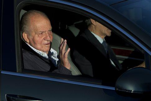 Στο νοσοκομείο ο βασιλιάς της Ισπανίας Χουάν Κάρλος