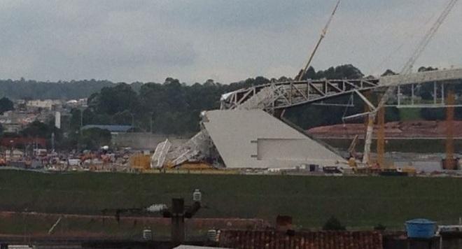 Τραγωδία σε μουντιαλικό γήπεδο στη Βραζιλία (vid)