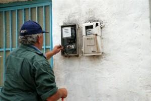 Λάρισα: Πρώτη επανασύνδεση ρεύματος σε πολίτη