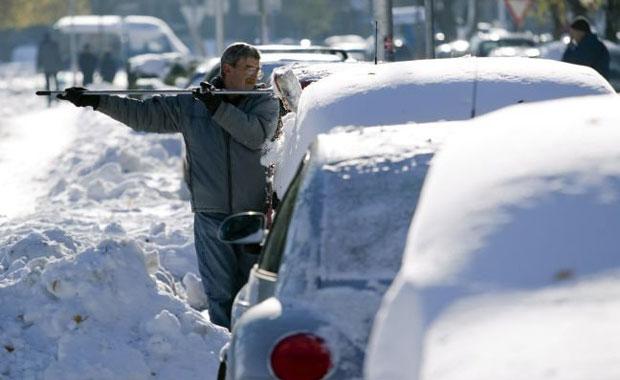 Βαρύς χειμώνας στην Κύπρο- Εγκλωβισμένοι κάτοικοι