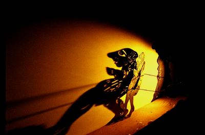 """Θέατρο σκιών """"Ο Καραγκιόζης γιατρός''"""