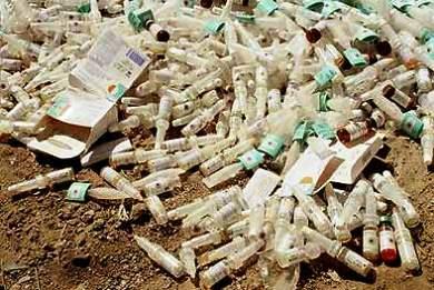 Παράνομα ιατρικά απόβλητα από το Παίδων με φορτηγό του Δήμου Αθηναίων στον ΧΥΤΑ Φυλής