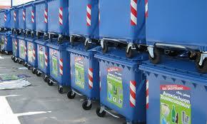 90 μπλε και 156 πράσινοι νέοι κάδοι