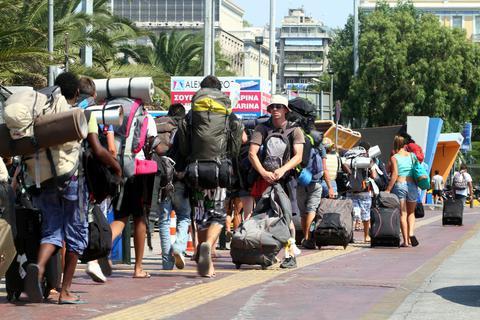Πάνω από 17 εκατομμύρια τουρίστες στην Ελλάδα
