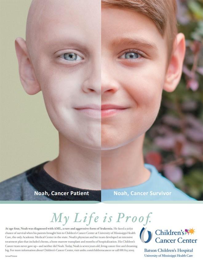 Νώε, επιζήσας του καρκίνου: «Η ζωή μου είναι η απόδειξη»