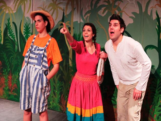 Παιδική παράσταση «Οι Τρεις φίλοι»