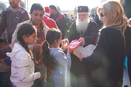 Εορταστική εκδήλωση για τα παιδιά του Αλιβερίου