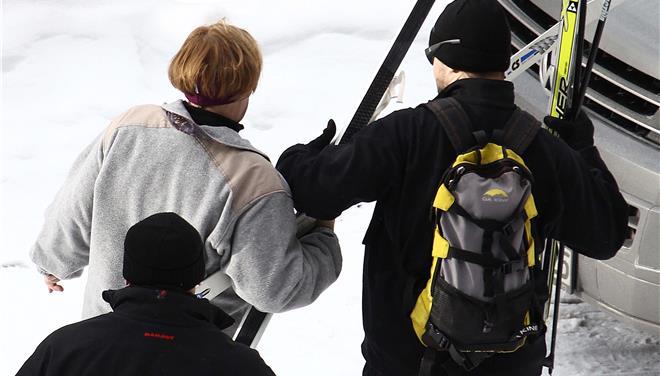 Τραυματίστηκε κάνοντας σκι η Μέρκελ