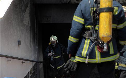 Φωτιά σε υπόγειο χώρο του νοσοκομείου Μεταξά στον Πειραιά