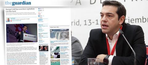 Guardian: Τι θα συμβεί στην Ελλάδα αν κερδίσει ο ΣΥΡΙΖΑ