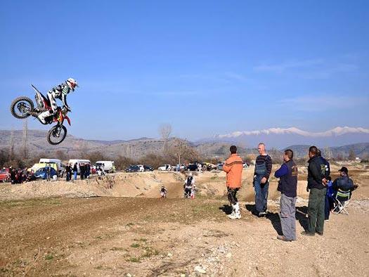 Πίστα moto cross στην Ελασσόνα