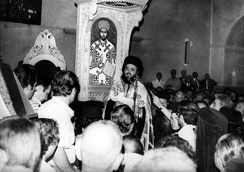 Στη μνήμη του Αρχιεπισκόπου Χριστόδουλου