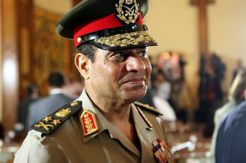 Την υποψηφιότητα Σίσι για την προεδρία στηρίζει ο στρατός της Αιγύπτου
