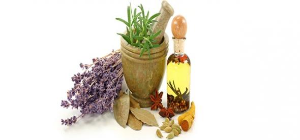Έξι βότανα ασπίδα στον πονόλαιμο
