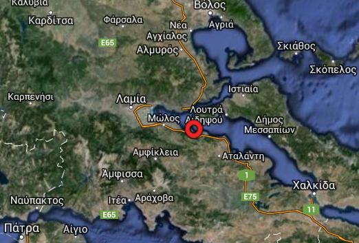 Σεισμός μεγέθους 4,9 βαθμών