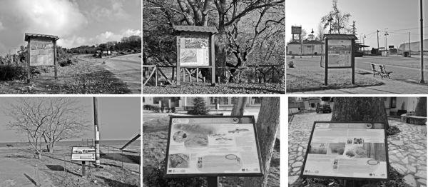 Πινακίδες ερμηνείας περιβάλλοντος στην περιοχή της Κάρλας
