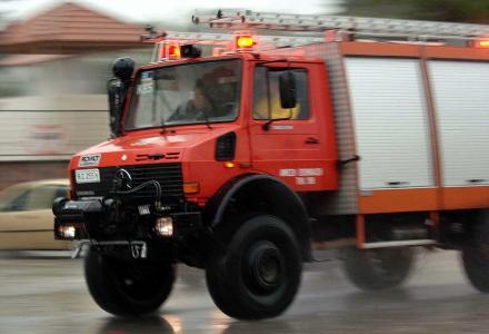 Αναστάτωση από φωτιά σε καμινάδα ψησταριάς στο κέντρο των Τρικάλων