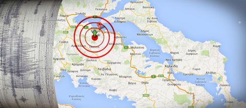Σεισμός 4,3 Ρίχτερ στην Αμφίκλεια