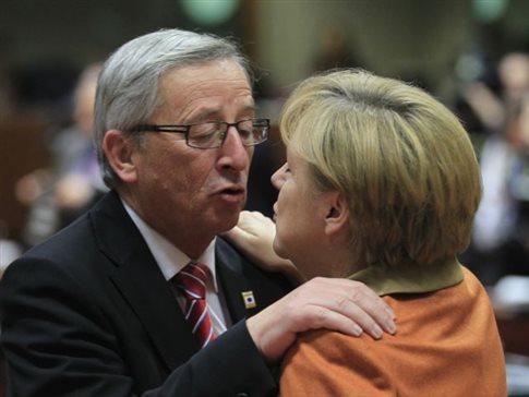 Μέρκελ: Δεν είναι μυστικό ότι τρέφω μεγάλη συμπάθεια στον Γιούνκερ